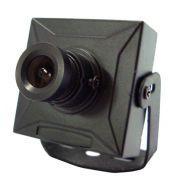 Mini Câmera de Monitoramento CCD Sharp colorida 1/3 480 linhas 0,08 lux