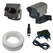 Kit Monitoramento 1 Micro Câmera Completo p/ TV - Fácil Instalação
