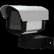 Caixa de Proteção em Alumínio Pequena para Micro Câmeras