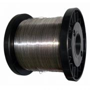Fio de aço para cerca elétrica 0,45mm bobina com 400 á 500 metros