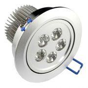 Lâmpada Dicroica Led 5W Spot Direcionável Para Sanca Gesso em Alumínio