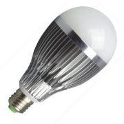 Lâmpada Led 9W Bulbo Bivolt E27 Branco 90% Mais Econômia