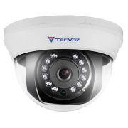 Câmera de Vigilância Tecvoz Dome 800 linhas 1/3 Infra vermelho 25 metros 2,8mm