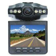 Dvr Veicular com câmera espiã Hd com monitor Lcd 2,5''