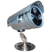 Câmera de Monitoramento com infravermelho Ircut até 30 mts 1200 linhas 3 leds Array