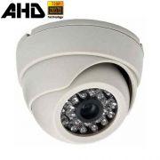 Câmera de Segurança Infravermelho AHD-M 1.0 megapixel 720P Dome Branca