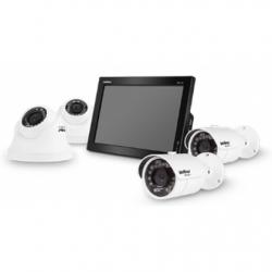 Kit Intelbras 04 Câmeras infravermelho + Dvr com Monitor + HD 500GB + Acessórios  - Tudoseg Cftv - Sistemas de Segurança Eletrônica