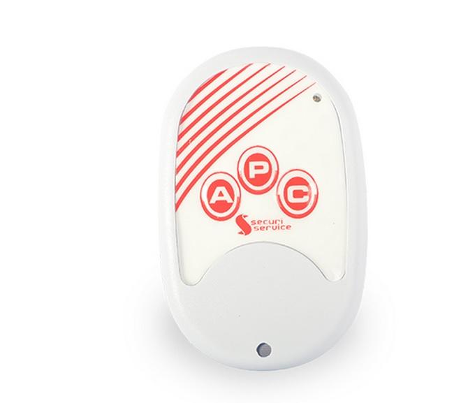 Controle Remoto 433mhz com 2 botões para centrais de alarme e choque GCP SS100  - Tudoseg Cftv - Sistemas de Segurança Eletrônica