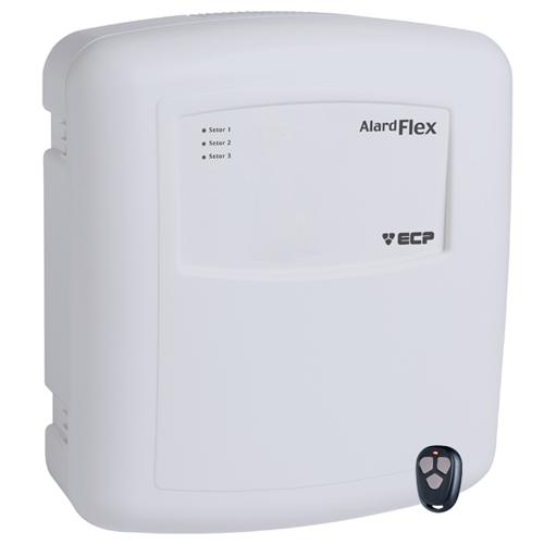 Central de Alarme ECP Flex 1 para sensores com ou sem fio  - Tudoseg Cftv - Sistemas de Segurança Eletrônica