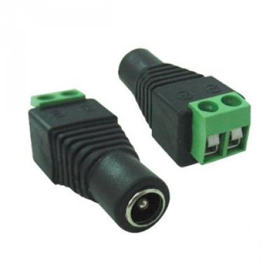 Conector P4 Fêmea com Borne  - Tudoseg Cftv - Sistemas de Segurança Eletrônica