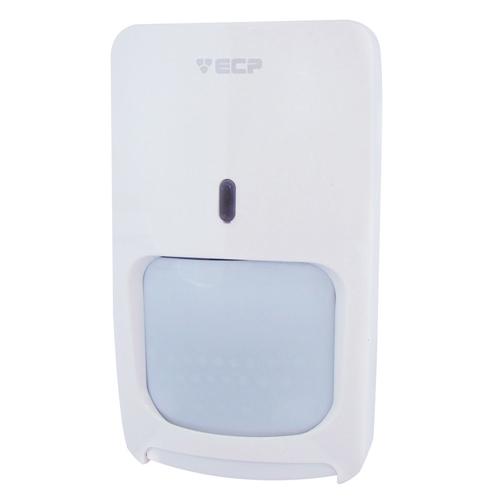 Sensor de presença Microondas + Infravermelho ECP Pet 25kg semi externo- Ligação por fio  - Tudoseg Cftv - Sistemas de Segurança Eletrônica