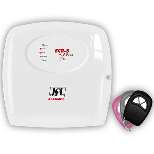 Eletrificador para cerca elétrica JFL 8 Plus - 1 setor alarme  - Tudoseg Cftv - Sistemas de Segurança Eletrônica