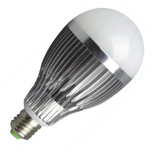 Lâmpada Led 12W Bulbo Bivolt E27 Branco Frio 90% Mais Econômica  - Tudoseg Cftv - Sistemas de Segurança Eletrônica