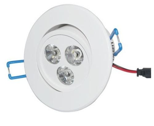 Lâmpada Led 3W Dicroica Spot Direcionável Para Sanca Gesso  - Tudoseg Cftv - Sistemas de Segurança Eletrônica