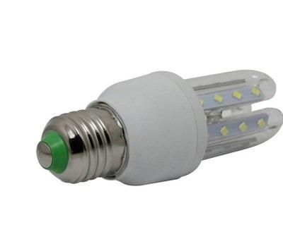 Lâmpada Led 5W 3U E27 Bivolt Branco Frio 90% Mais Econômica  - Tudoseg Cftv - Sistemas de Segurança Eletrônica