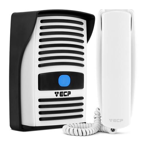 Kit Interfone Residencial Porteiro Eletrônico Intervox ECP  - Tudoseg Cftv - Sistemas de Segurança Eletrônica