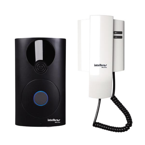 Porteiro Eletrônico Interfone Residencial Intelbras IPR 8000  - Tudoseg Cftv - Sistemas de Segurança Eletrônica