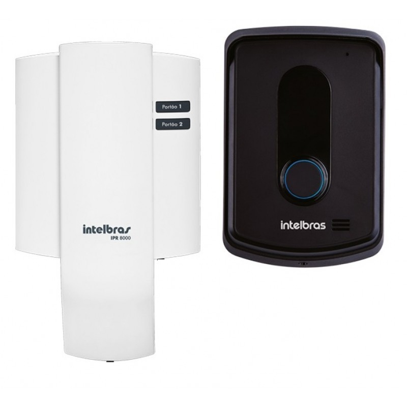Porteiro Eletrônico Interfone Residencial Intelbras IPR 8010  - Tudoseg Cftv - Sistemas de Segurança Eletrônica