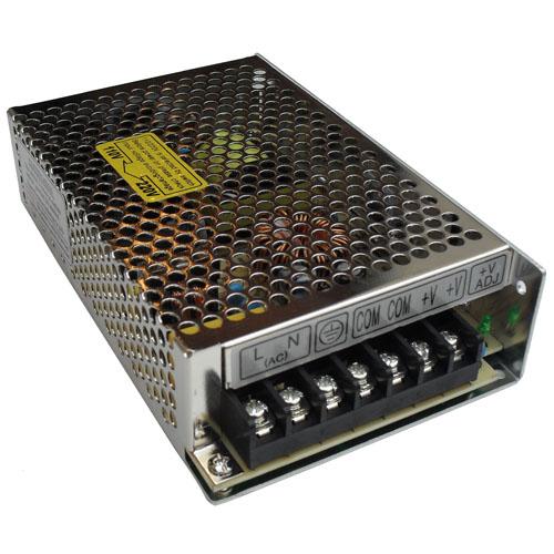 Fonte de Alimentação 12V 10 Amperes Chaveada Bivolt  - Tudoseg Cftv - Sistemas de Segurança Eletrônica