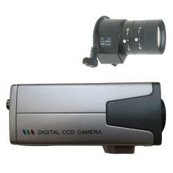 Câmera de segurança profissional day night CCD Sony 680 linhas 1/3 colorida com Lente Auto-Iris Varifocal 6/60mm- Alta Definição  - Tudoseg Cftv - Sistemas de Segurança Eletrônica