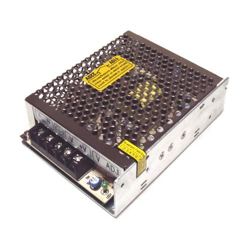 Fonte de alimentação 110/220V conversora p/ 12V chaveada com 5 amperes- Colméia  - Tudoseg Cftv - Sistemas de Segurança Eletrônica