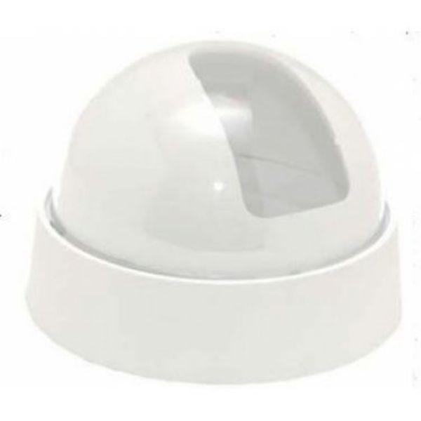 Dome para micro câmeras camuflador 3 polegadas - Branco  - Tudoseg Cftv - Sistemas de Segurança Eletrônica