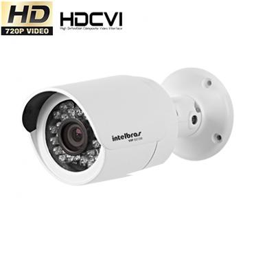 Câmera Segurança Infravermelho Intelbras 20 metros HDCVI VHD 3120 720P  - Tudoseg Cftv - Sistemas de Segurança Eletrônica