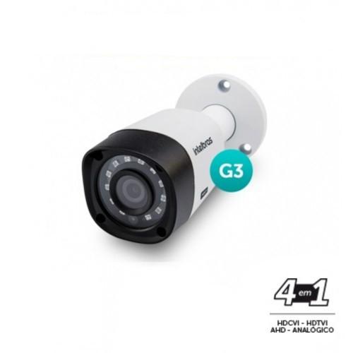 Câmera Segurança Infravermelho Intelbras 20 metros 1.0 Megapixel Multi HD 3120 720P  - Tudoseg Cftv - Sistemas de Segurança Eletrônica