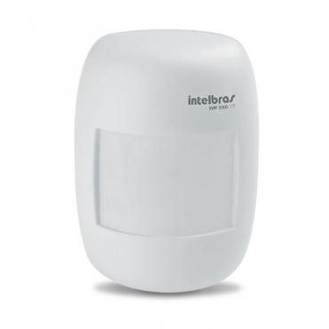 Sensor de Presença Infravermelho Passivo com Fio IVP 3000 CF Intelbras  - Tudoseg Cftv - Sistemas de Segurança Eletrônica