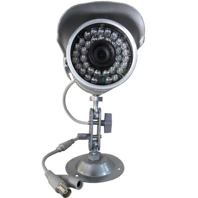 Câmera de Monitoramento com Infravermelho até 30 metros Analógica 1000 linhas- Promoção  - Tudoseg Cftv - Sistemas de Segurança Eletrônica