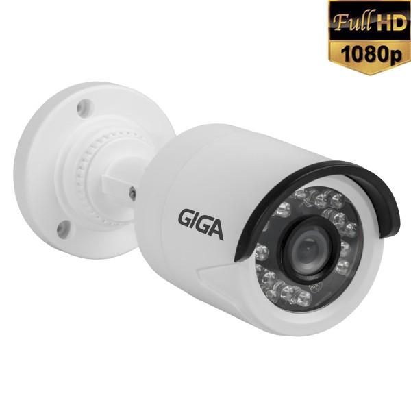 Câmera de Segurança GIGA 10 Leds Infravermelho Full HD 1080p 2.0 Megapixel  - Tudoseg Cftv - Sistemas de Segurança Eletrônica