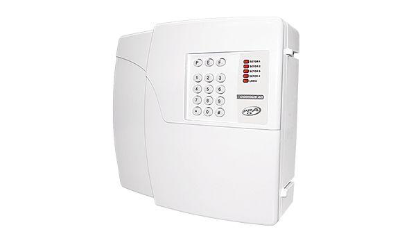Central de Alarme PPA 4D 4 Zonas Com Discadora Incorporada - Para Sensores Com Fio e Sem Fio  - Tudoseg Cftv - Sistemas de Segurança Eletrônica