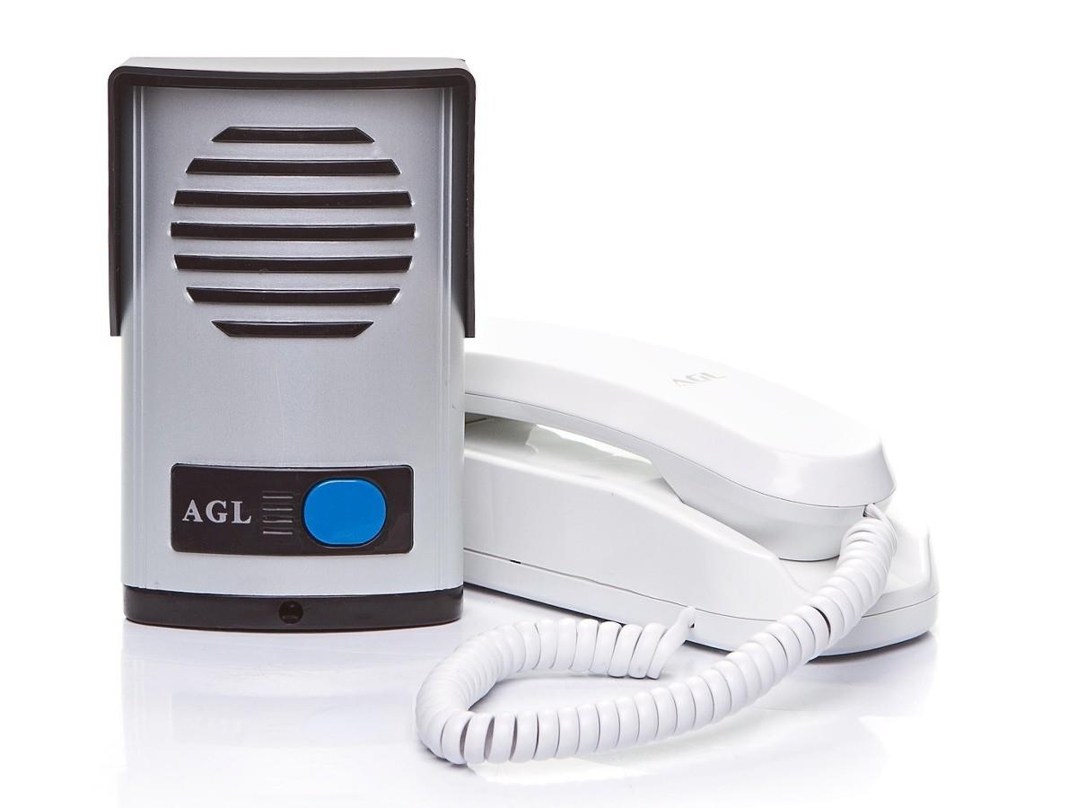 Interfone e Monofone AGL Com Protetor de Chuva - Alta Resistência  - Tudoseg Cftv - Sistemas de Segurança Eletrônica