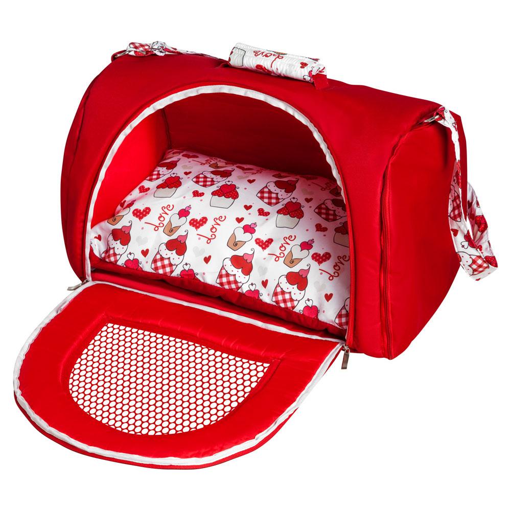 Bolsa de Transporte BagDog G - Vermelha