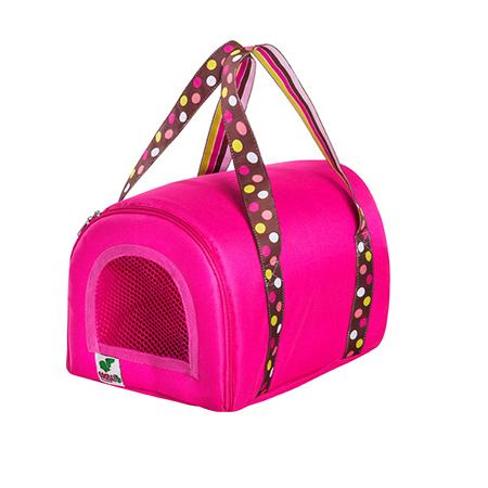 Bolsa Transporte Mini BagDog Eleva Mundi - Rosa