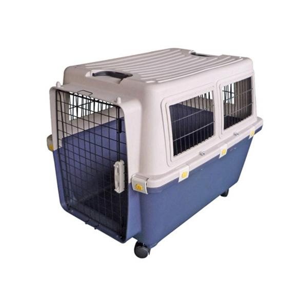 Caixa de Transporte Pet Padrão IATA para Viagem Internacional de Avião Eleva Mundi Tamanho 5 - N5
