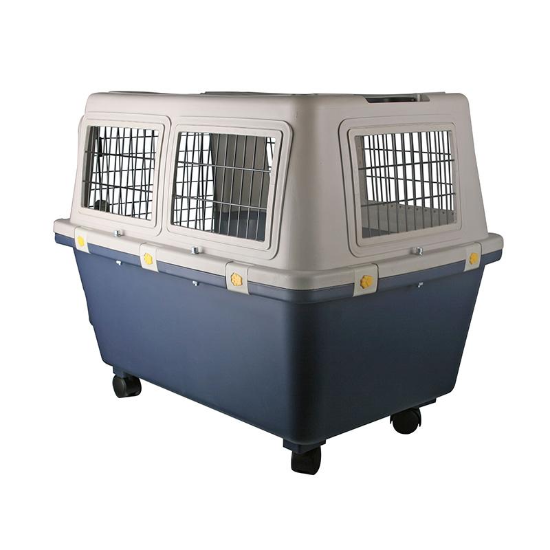 Caixa de Transporte Pet Padrão IATA para Viagem Internacional de Avião Eleva Mundi Tamanho 7 - N7
