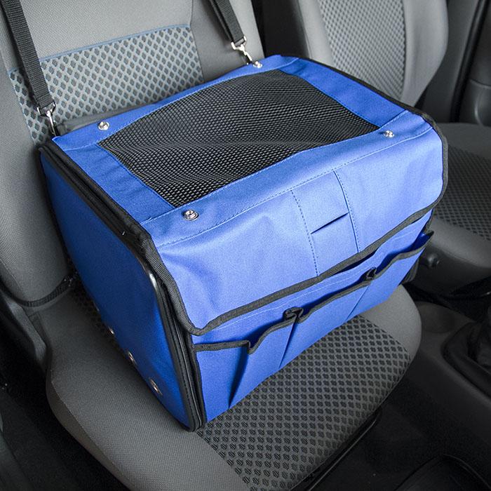 Cadeirinha de Cachorro para o Carro Vira Bolsa Bag Pet