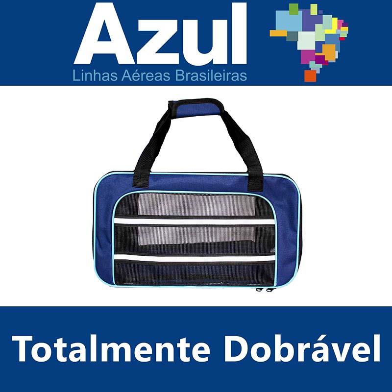 Bolsa para Transportar seu Pet na Cabine do Avião - Cia AZUL