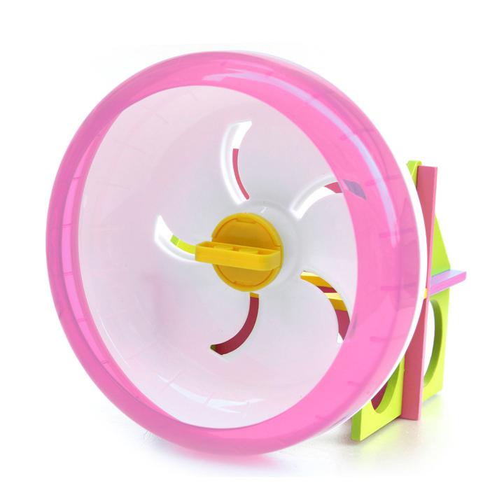 Rodinha de Grade Spin 17.5cm para Hamster Eleva Mundi - Azul