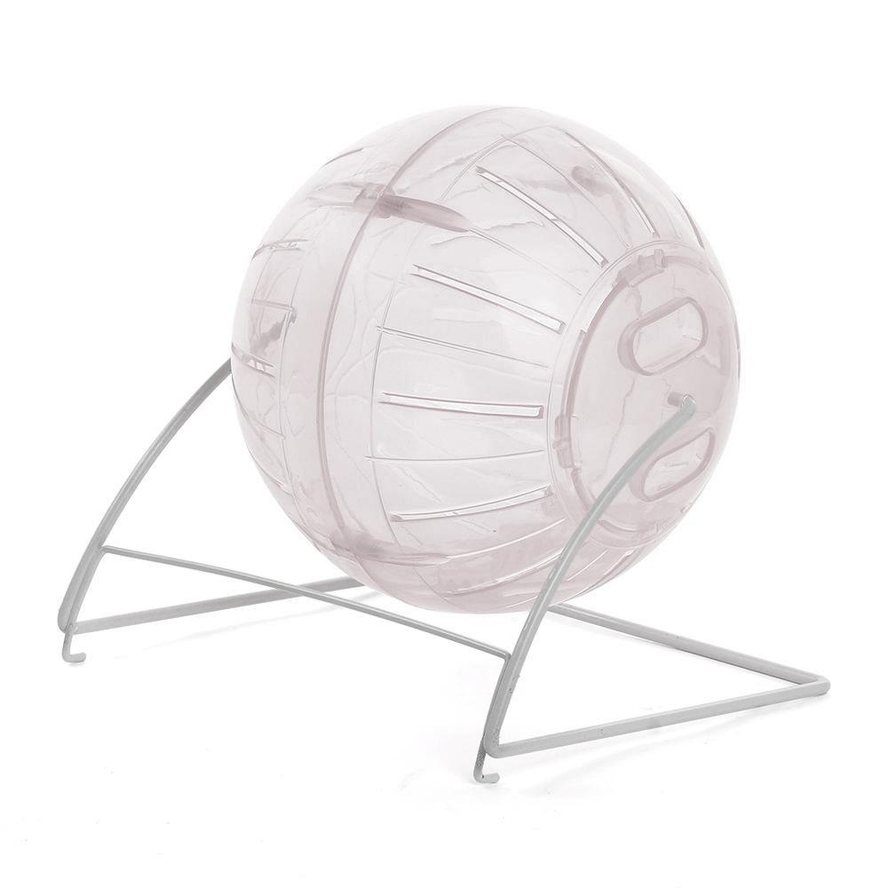 Globo Hamster Ball 12cm com suporte Eleva Mundi - Transparente