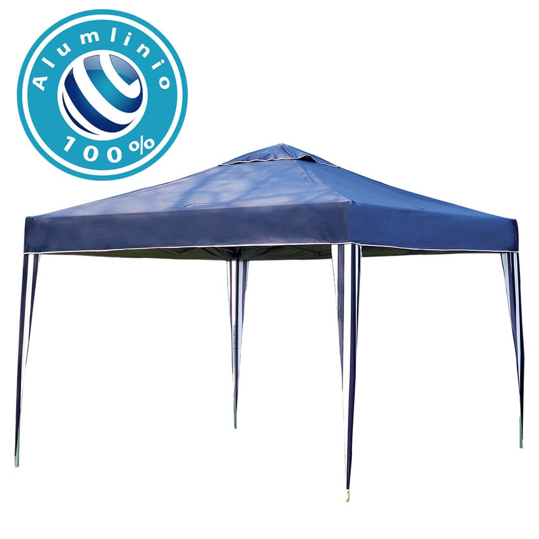 Gazebo 3x3 Articulado 100% Alumínio Eleva Mundi - Azul