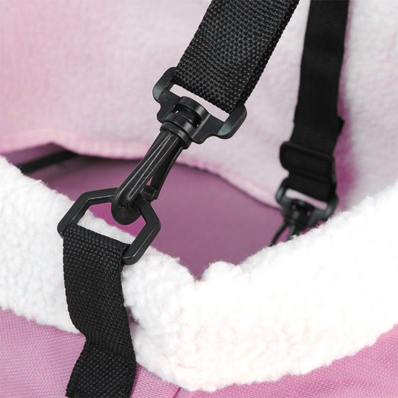 Cadeirinha de Cachorro para o Carro Standard Pet Eleva Mundi - Rosa