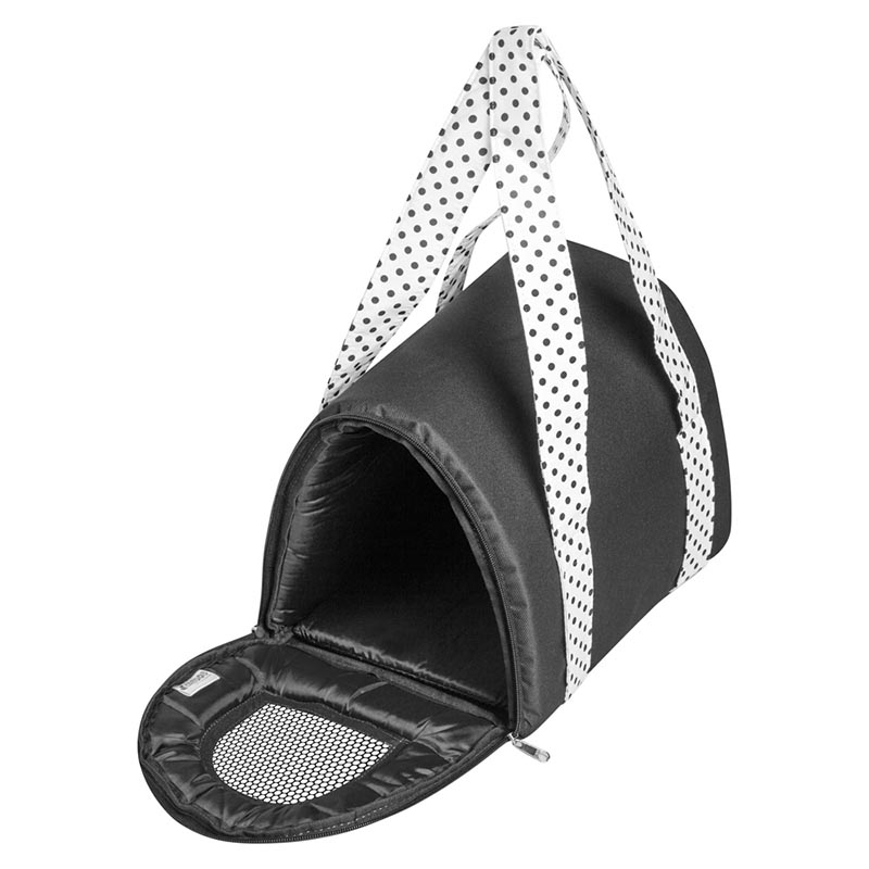 Bolsa Transporte Mini BagDog Eleva Mundi - Preta
