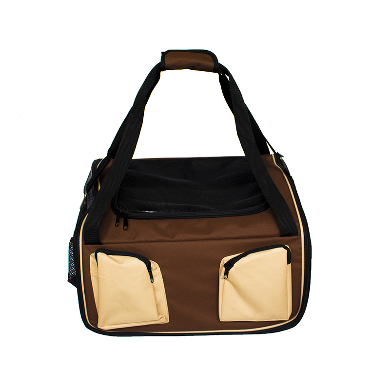 Cadeirinha de Cachorro para o Carro Vira Bolsa Super Bag Pet
