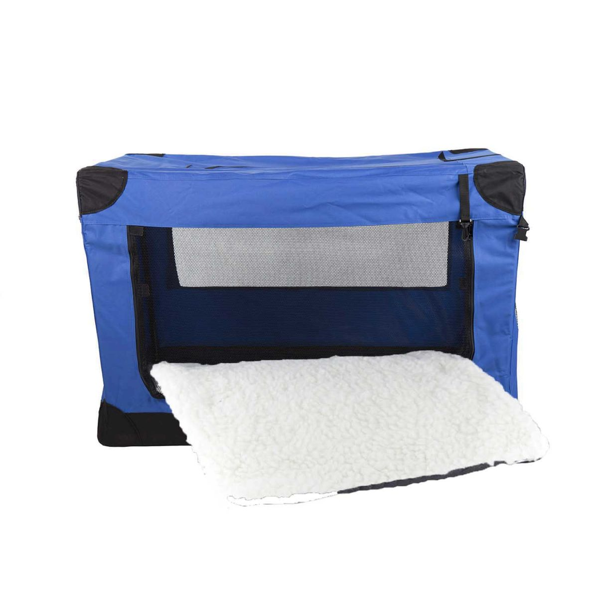 Casinha Móvel Dobrável Pet HolidayTamanho 3XG Eleva Mundi - Azul