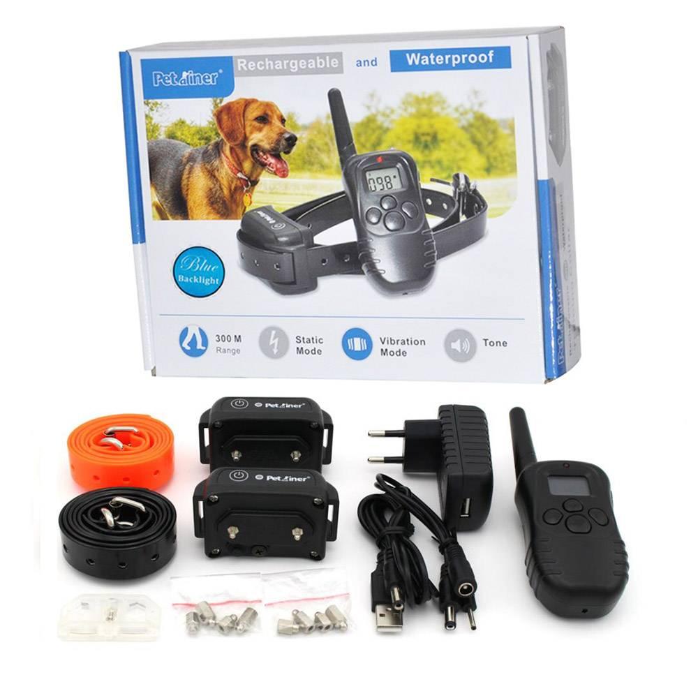 Coleira Adestramento Recarregável Modelo 2015 para 2 Cães Eleva Mundi