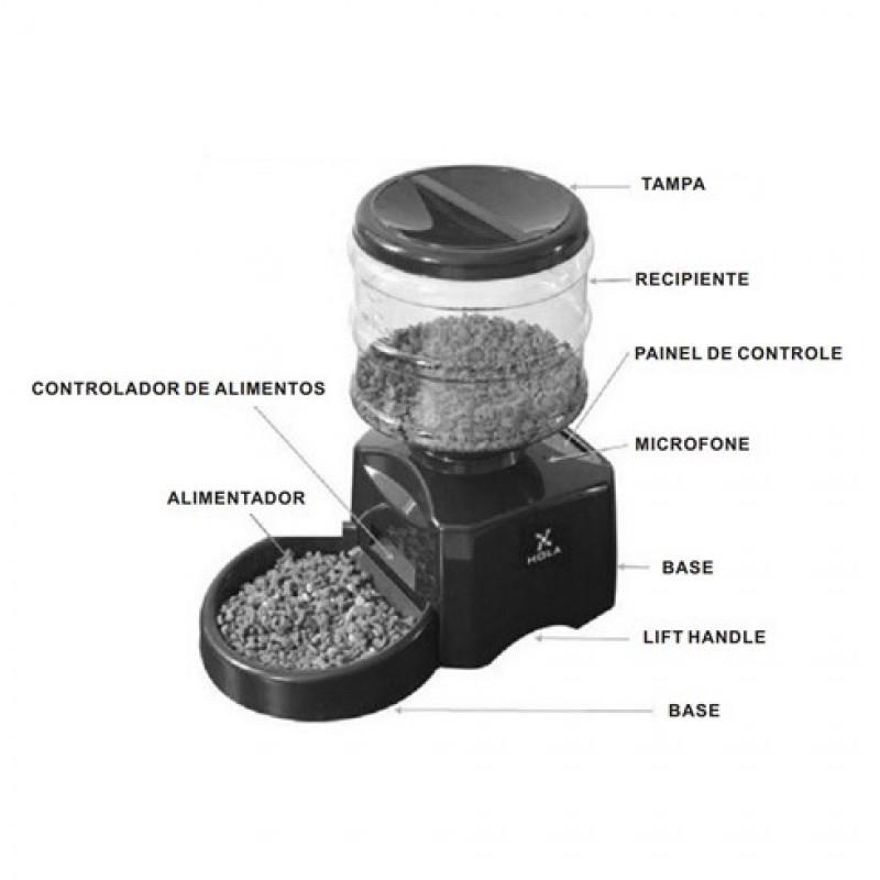 Alimentador Automático Eletrônico Programável Deluxe