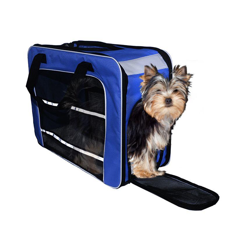 Bolsa de Transporte PET em Pé (Cor Azul) - Eleva Mundi