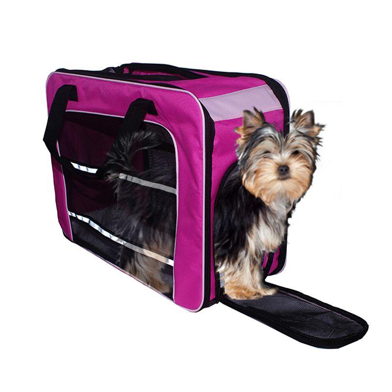 Bolsa de Transporte PET em Pé (Cor Rosa) - Eleva Mundi